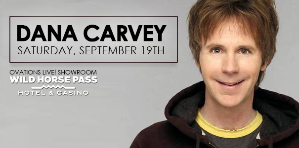 Dana Carvey Wild Horse Pass